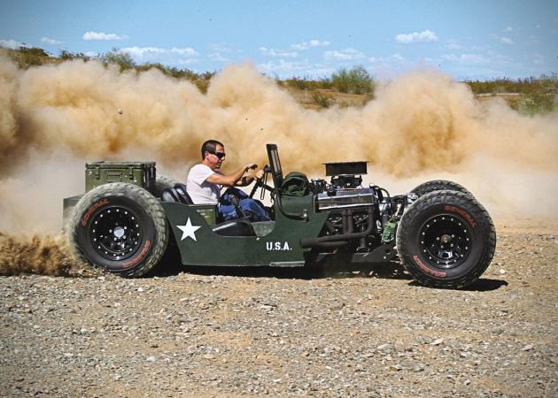 Rat Rod Jeep   Randy Ellis Design