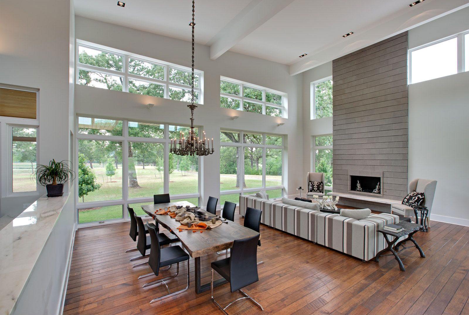 Modern Ranch House Interior Modern House