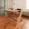 Ravenscroft Oak and Walnut Desk