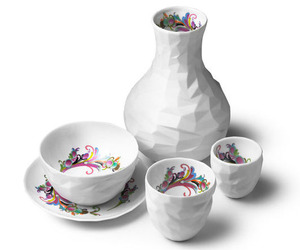 Raw Diamonds, Unique Ceramic Tableware - Gift Idea
