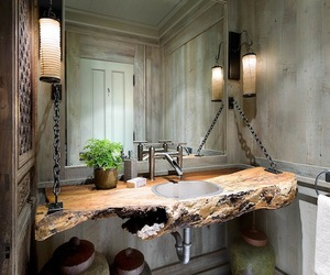 Sculptural Raw Wood in the Home