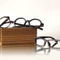 Raw Wood Texture Eyewear from Indie Nation