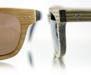 Raw Wood Texture Sunglasses by Indie Nation