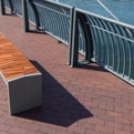 Reclaimed : Atlantic City Boardwalk Bench by Forms+Surfaces