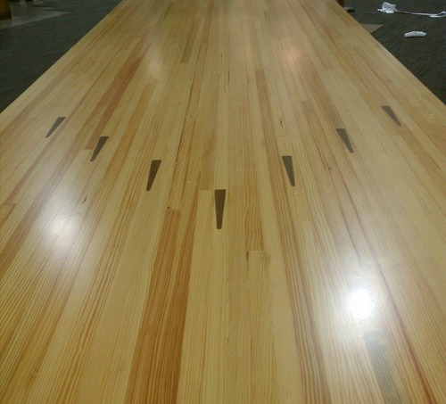 Reclaimed Bowling Alley Floor Images
