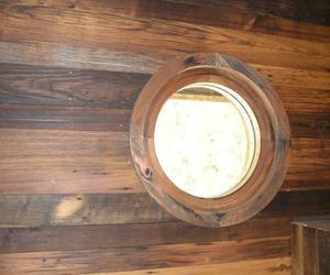 Reclaimed Chestnut Flooring in a wall application