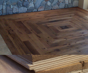 Reclaimed & Engineered Oak Barn Siding Flooring