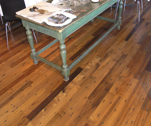 Reclaimed Greenheart Flooring