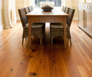 Reclaimed Hermitage Heart Pine Flooring by Mountain Lumber
