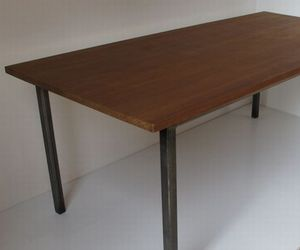 Reclaimed labtop dining tables