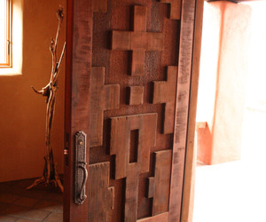 Reclaimed Redwood Picklewood Door