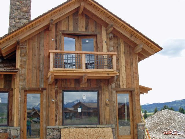 - Reclaimed Smooth Brown Barn Wood Siding