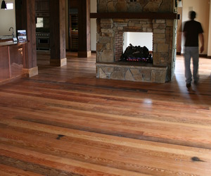 Reclaimed Wine Pickle Vat Wood Flooring