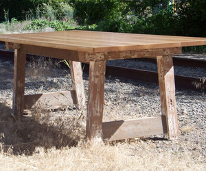 Reclaimed Wood Table by Ivory Bill Furniture