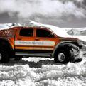 Record Breaking Polar Vehicle