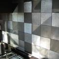 Recycled Cast Metal Wall Tile