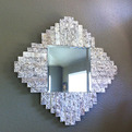Recycled Granite Mirror
