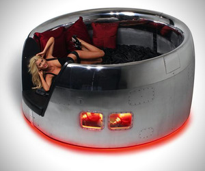 Recycled Jet Beds by MotoArt