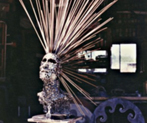 Recycled Metal Sculpture,