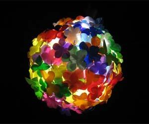 Recycled Plastic Bottle Pendant Lighting