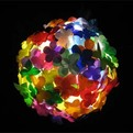 Recycled Plastic Bottle Pendant Lighting