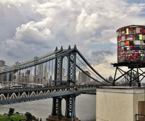 Recycled Plexiglass Water Tower By Tom Fruin