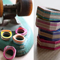Recycled Skateboard Rings