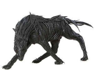Recycled Tire Sculpture
