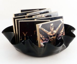 Recycled Vinyl Record Bowls