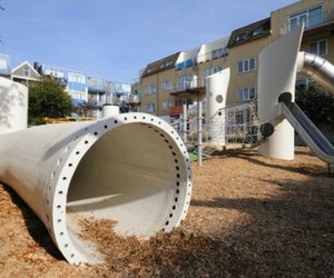 Recycled Wind Turbine Wikado Playground