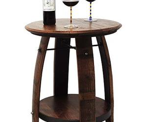 Recycled Wine Barrel Table