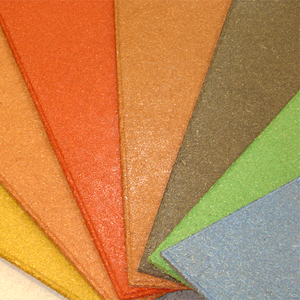 Recycled Wood Acoustical Ceiling Panels