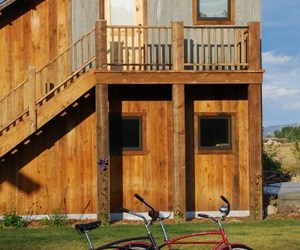 Recycled Wood Siding and Beams by MRL