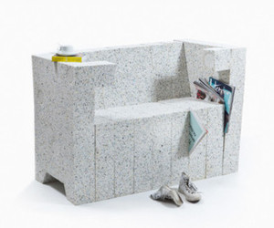 Recycling Chair - Sofa System  By Stephan Schulz