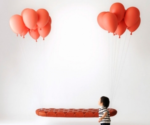 Red Balloon Bench