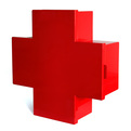 Red Cross Cabinet by Thomas Erikssons