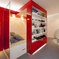 Red Nest, Apartments in Paris by Paul Coudamy