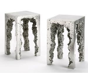 Reddish Studio- Dov- Aluminum Stools