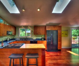 Redesigned of 70's style ranch house on Bainbridge Island