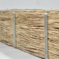 Sheaves, Reed Bench by Steven Banken