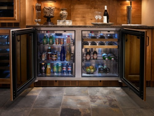 Refrigerator And Beverage Center From Perlick