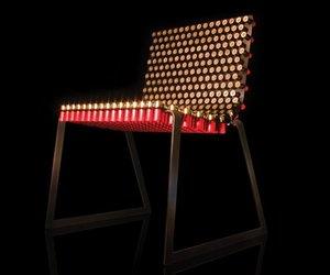 Fully Loaded Shotgun Shell Chair by Rehab