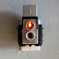 Repurposed Vintage Cameras Become Night Lights