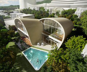 The Moebius House a Residence by Planning Korea
