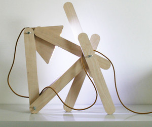 Residue Lamp: Made to Play by Made by Midas