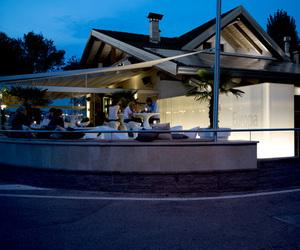 Europa Restaurant in Calceranica al Lago by raro
