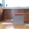 Retractable Kitchen Island Controlled by iPhone (Video)