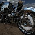 Retro Harley Davidson By Brent Beggs