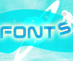 Retro-styled Animated Film about Fonts