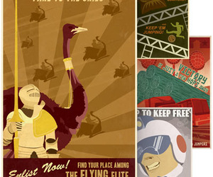 Retro Video Game Propaganda Posters